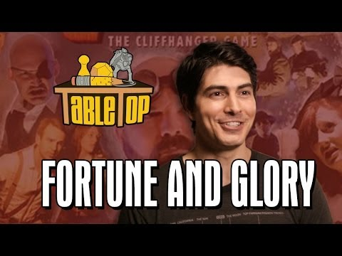 Fortune and Glory: Brandon Routh, Felicia Day, and Ryon Day join Wil on TableTop SE2E20