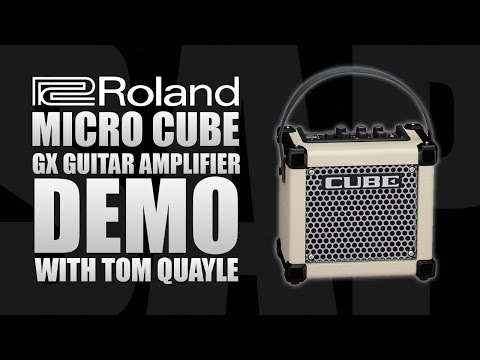 Roland Micro Cube GX (White) Guitar Amplifier