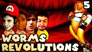 Smarty, are you Dumb? (Worms Revolution: The Derp Crew - Part 5)