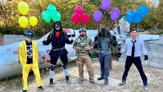 Dude Perfect - Airsoft boj