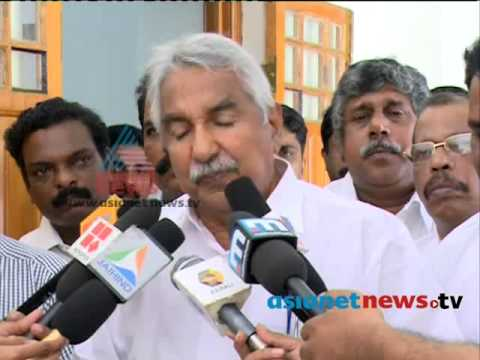 Oommen Chandy response after UDF candidate winning in Trivandrum