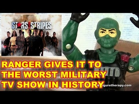 Stars Earn Stripes - Action Figure Therapy