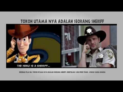 10 Kesamaan Antara film The Walking Dead dan Toy Story