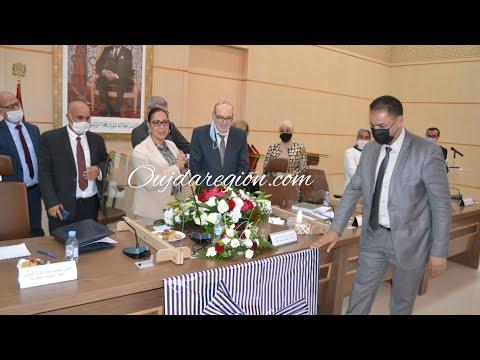 جهه الشرق تكرم بوشارب بعد زيارة اثمرت انجازات وبرهنت على التضحيات