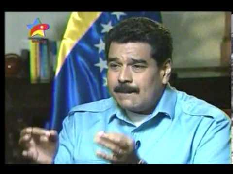 Entrevista de Maduro en CNN [PARTE I] WWW.VENEZUELALUCHA.COM