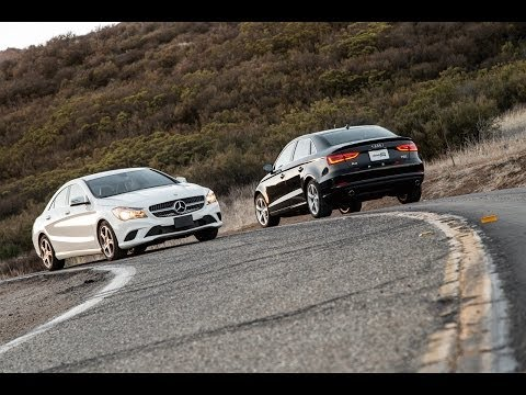 2014 Mercedes-Benz CLA250 vs. 2015 Audi A3 Comparison Test -- Edmunds.com