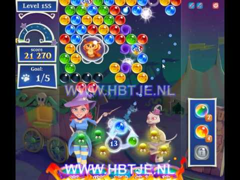 Bubble Witch Saga 2 level 155