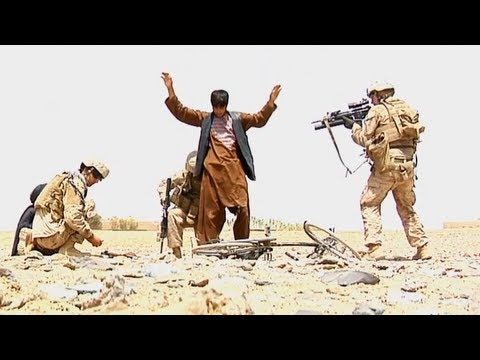 Marines Capture Taliban Fighters After Firefight | Sept 2013