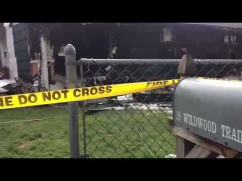 Blaze destroys Northampton home June 26, 2014