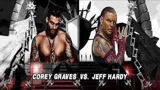WWE 2K14: Jeff Hardy Vs Corey Graves