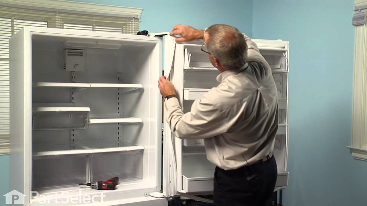 Refrigerator Repair Replacing The Fresh Food Door Gasket