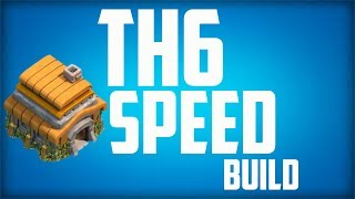 Clash Of Clans Town Hall Level 6 Defense Setup Speed