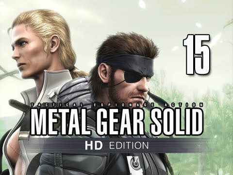 Metal Gear Solid 3 Snake Eater Collection Walkthrough - Part 15 BOSS The Ladder Let's Play