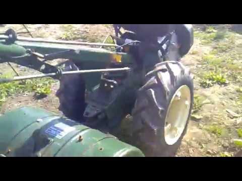 Motocultor Goldoni diesel part 2