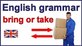 The difference between bring and take, Confused Verbs