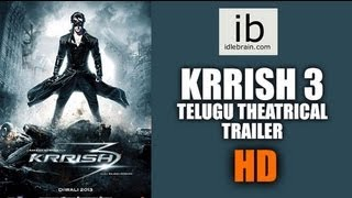 Krrish 3 Telugu theatrical HD trailer