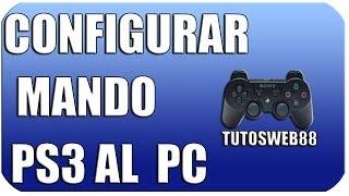 Configurar Mando PS3 A Pc 2014 Fácil Y Rápido