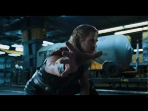 The Avengers -THOR VS HULK scene! NEW!