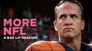 Bad Lip Reading the NFL