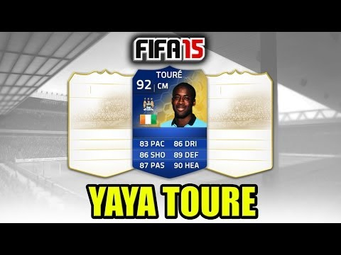 FIFA 15 - YAYA TOURE (Card Prediction)
