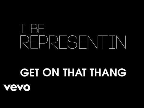 Ludacris ft Kelly Rowland - Representin Lyric Video (Explicit)