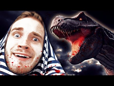 EATEN ALIVE BY A T-REX