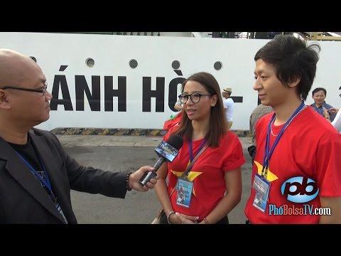 Những tâm tình Việt Kiều ngày khởi hành chuyến đi thăm Trường Sa 4/2015