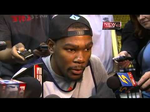 Durant Reacts To Newspaper Headline