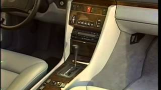 Mercedes Benz 1990 Sales Training Model Lineup Overview