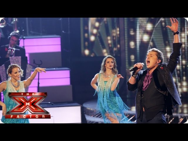 Luke Friend sings Moondance by Van Morrison - Live Week 5 - The X Factor 2013