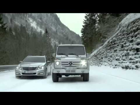 Mercedes-Benz 'Sunday Driver' commercial with Michael Schumacher and Mika Häkkinen