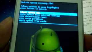 Enter Recovery Mode On Samsung Galaxy S Duos S762 [How To