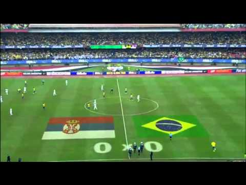 Brazil 1 X 0 Servia FRENDLY MATCH GOAL AND HIGHLIGHTS HD 06/06/2014
