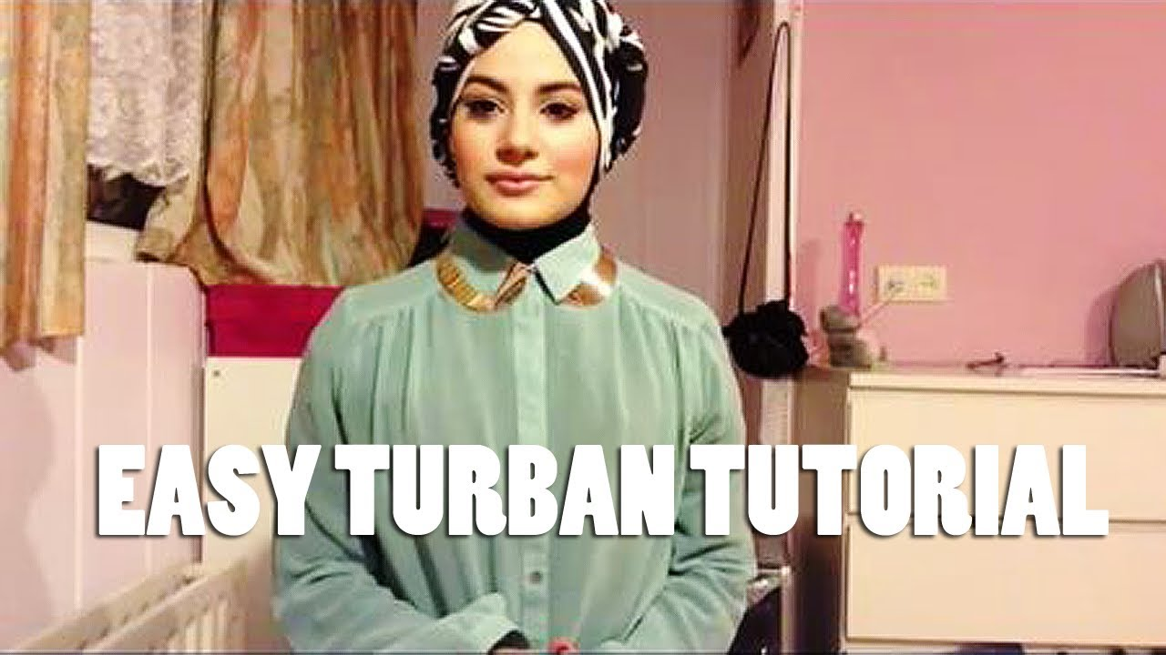 Hijab Styles Turban Turban Style Hijab Tutorials Pictures to pin on ...