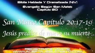 SAN MATEO Capitulo 20 (BIBLIA HABLADA Y DRAMATIZADA) NVI