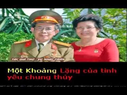 KHOẢNG LẶNG - Thơ : Vũ Nhạc Trần - Phổ nhạc : HẢI ANH karaoke  khong loi