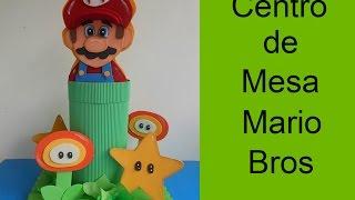 Centro De Mesa Infantil Mario Bros (child Table Center