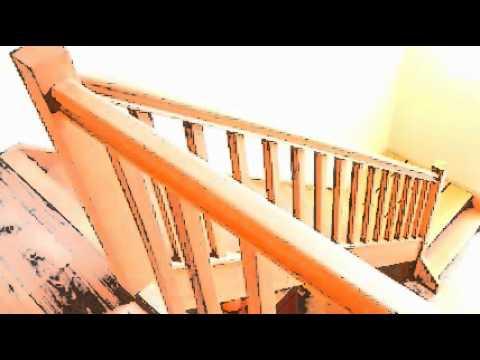 Een kwalitatieve houten trap geplaatst door trappen ddk te j youtube - Te vernieuwen zijn houten trap ...
