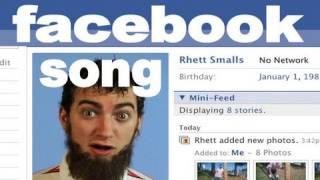 Facebook Song Rhett & Link
