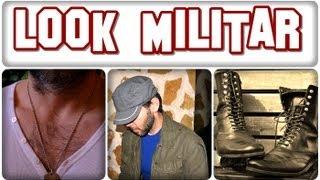 Look militar para hombre