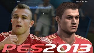on Shaqiri New Face PES 2013 - Starting From Scratch - YouTube