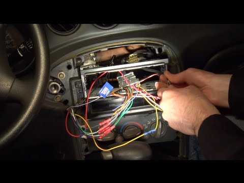 Installing aftermarket car stereo