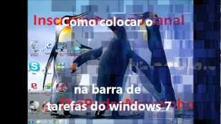 Com Colocar O Facebook Na Barra De Tarefas Do Windows 7