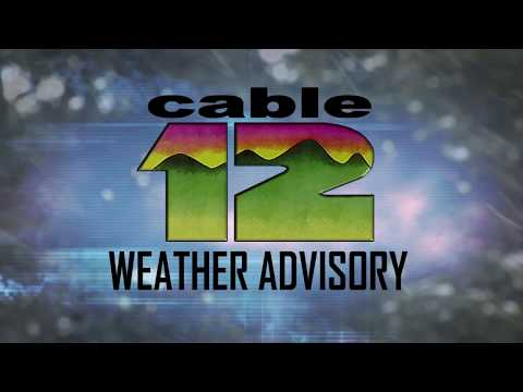 Cable 12 Weather Advisory on Snow Potential