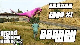 GTA V Easter Eggs #1 Barney [Sem Spoilers]