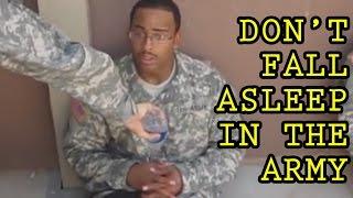 Nikdy nespite v armáde