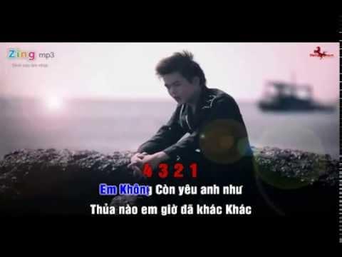 Yêu Là Đau KaRaOke - Khang Vĩnh Cường