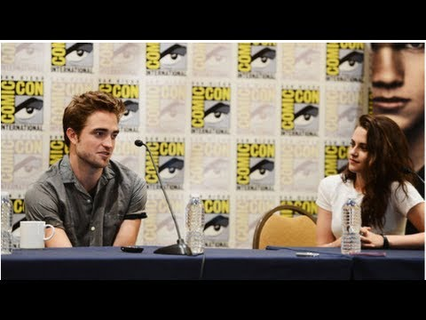 Robert Pattinson and Kristen Stewart on a Twilight Reboot at Comic-Con