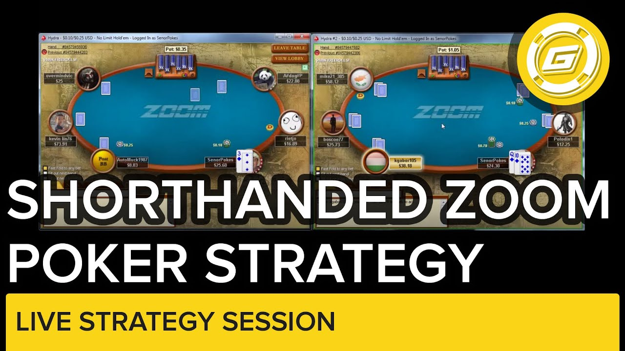 zoom poker strategy