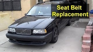 Volvo 850 Front Seat Belt Replacement Auto Repair Series